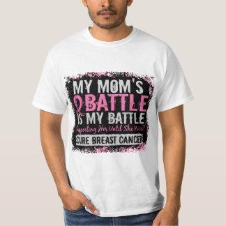 Mi mamá del cáncer de pecho demasiado 2 de la playera