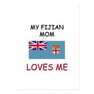 Mi mamá del Fijian me ama Postal
