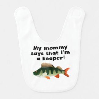 Mi mamá dice que soy encargado babero de bebé