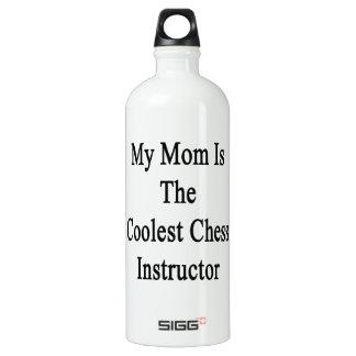Mi mamá es el instructor más fresco del ajedrez