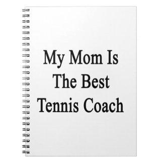 Mi mamá es el mejor coche de tenis libreta