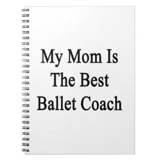 Mi mamá es el mejor coche del ballet libro de apuntes