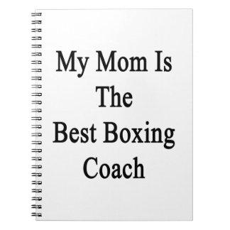 Mi mamá es el mejor coche del boxeo cuaderno