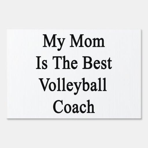 Mi mamá es el mejor coche del voleibol