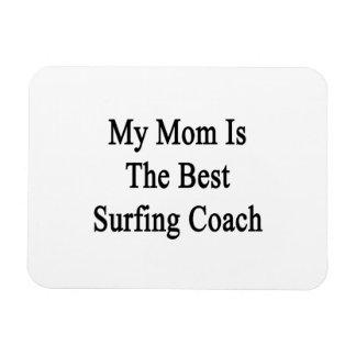 Mi mamá es el mejor coche que practica surf imán flexible