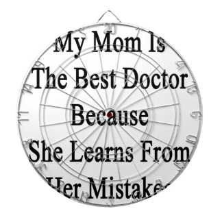 Mi mamá es el mejor doctor Because She Learns From