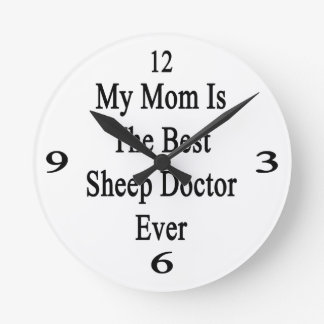 Mi mamá es el mejor doctor Ever de las ovejas Relojes