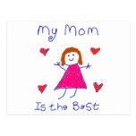 Mi mamá es el mejor postal
