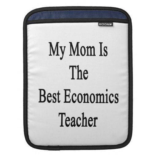 Mi mamá es el mejor profesor de la economía mangas de iPad