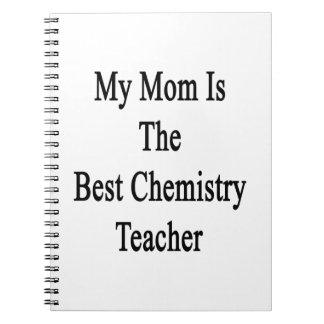 Mi mamá es el mejor profesor de la química libreta espiral