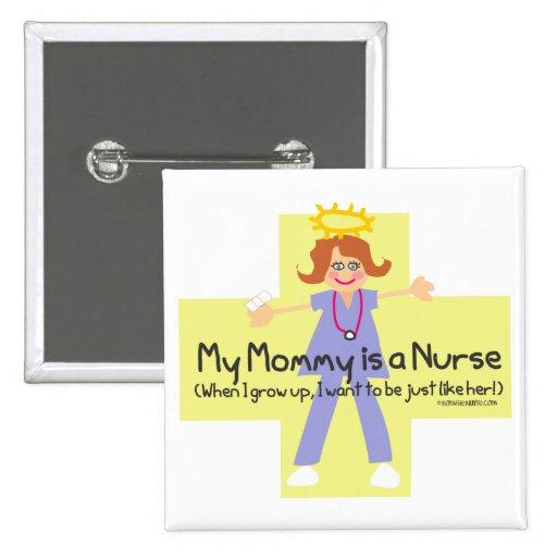 Mi mamá es enfermera 4 pin