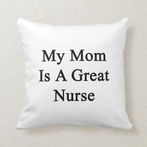 Mi mamá es gran enfermera almohadas