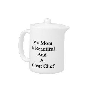 Mi mamá es hermosa y gran cocinero