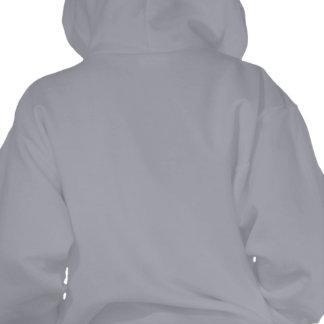 Mi Mama Es La Pintora Mas Cabrona Hooded Pullovers