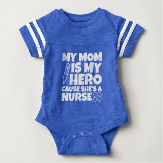 Mi mamá es mi causa del héroe que ella es body para bebé