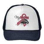 Mi mamá es mi héroe - mieloma múltiple gorro
