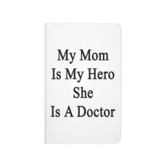 Mi mamá es mi héroe que ella es doctor