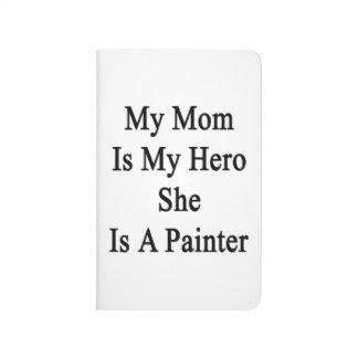 Mi mamá es mi héroe que ella es pintor