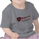 Mi mamá es mi tarjeta del día de San Valentín Camiseta