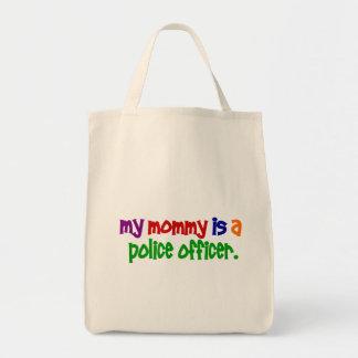 Mi mamá es oficial de policía 1 primario bolsas de mano