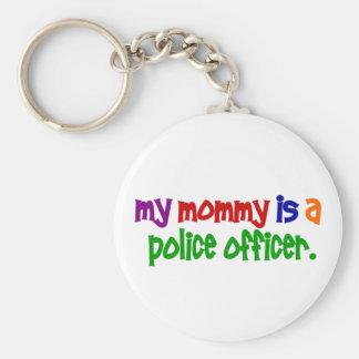 Mi mamá es oficial de policía 1 primario llavero