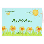 Mi mamá es tarjetas