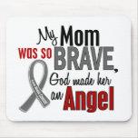 Mi mamá es un cáncer de cerebro del ángel 1 alfombrilla de ratón