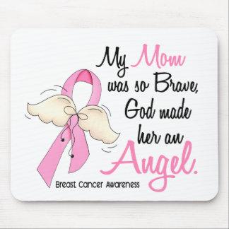 Mi mamá es un cáncer de pecho del ángel 2 alfombrilla de ratón