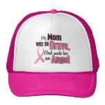 Mi mamá es un cáncer de pecho del ángel gorro