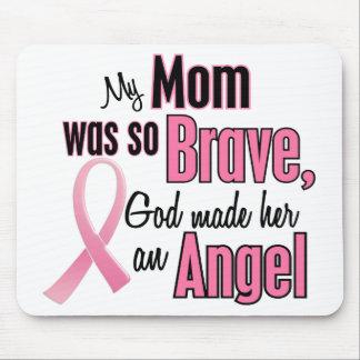 Mi mamá es un cáncer de pecho del ángel alfombrilla de raton