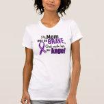 Mi mamá es un cáncer pancreático del ángel camisetas