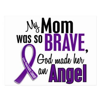 Mi mamá es un cáncer pancreático del ángel postales