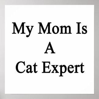 Mi mamá es un experto del gato impresiones