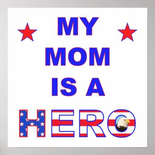 Mi mamá es un héroe póster