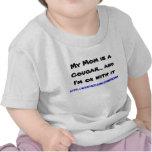 Mi mamá es un puma… y soy aceptable con él camiseta