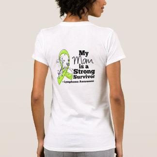 Mi mamá es un superviviente fuerte del linfoma camisetas