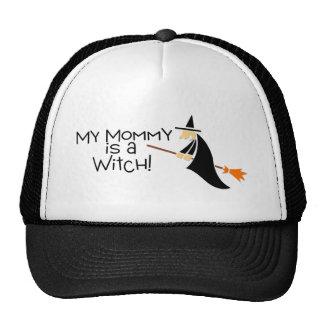 Mi mamá es una bruja Halloween Gorro