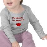 Mi mamá es una camisa de manga larga del niño del