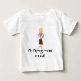 ¡Mi mamá me usa! Playera De Bebé