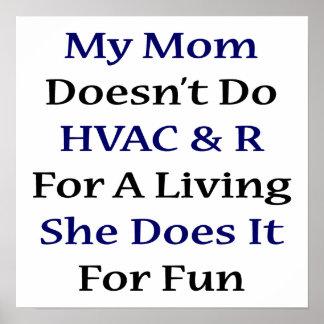 Mi mamá no hace HVAC R para la vida de A que ella  Posters