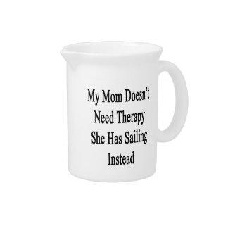 Mi mamá no necesita terapia que ella tiene jarrón