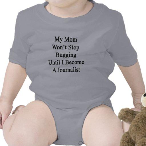 Mi mamá no parará el fastidiar hasta que haga un trajes de bebé