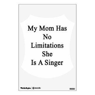 Mi mamá no tiene ninguna limitación que ella es vinilo adhesivo