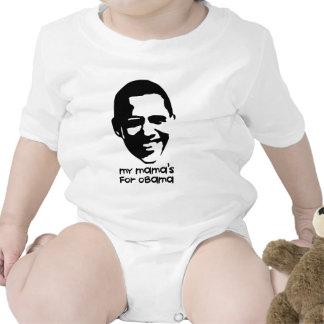Mi mamá para Obama Trajes De Bebé