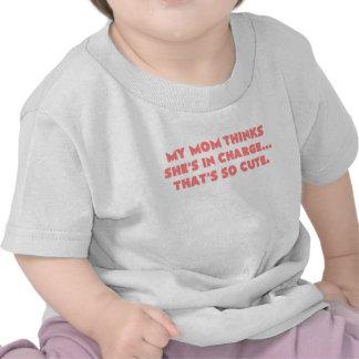 mi mamá piensa los shes responsables que es el ros camisetas