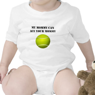 Mi mamá puede Ace a su mamá Traje De Bebé
