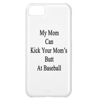 Mi mamá puede golpear el extremo de su mamá con el funda para iPhone 5C