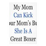 Mi mamá puede golpear el extremo de su mamá con el papelería personalizada