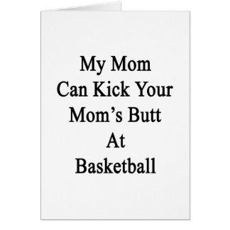Mi mamá puede golpear el extremo de su mamá con el felicitacion