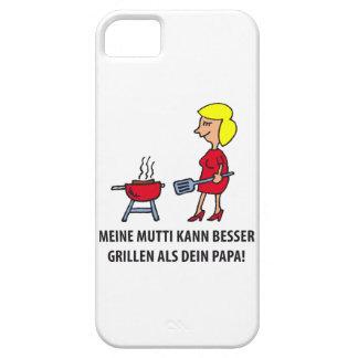 mi mamá puede mejor asar a la parrilla que Tu papá iPhone 5 Carcasa